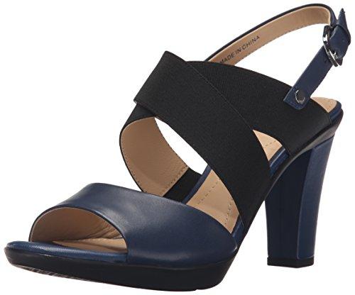 Geox D Jadalis B, Sandales Femme blue