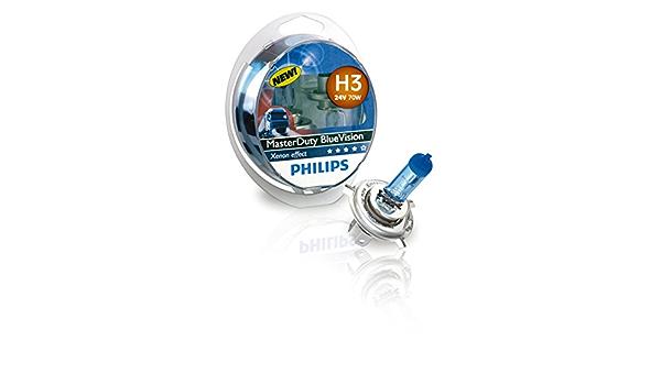 Philips 13336mdbvs2 H3 24v Master Duty Blue Vision Pk22s 2er Set Auto