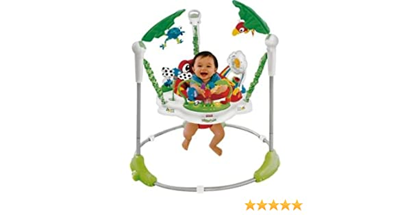 439f3a382 Ideal Fisher-Price Rainforest Jumperoo Baby Bouncer - Cleva® Bundle ...