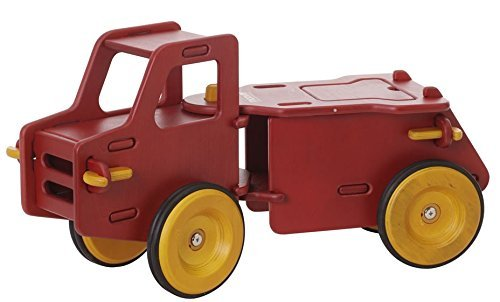 Moover Dump Truck Red by Moover - Red Dump Truck