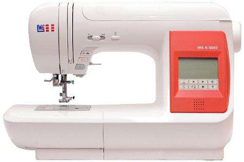 W6 N 5000 Computergesteuerte Nähmaschine mit 323 Programmen 22 Cm Computer-bildschirm