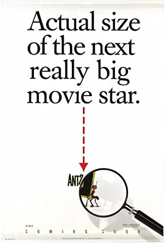 Antz Plakat Movie Poster (27 x 40 Inches - 69cm x 102cm) (1998) C