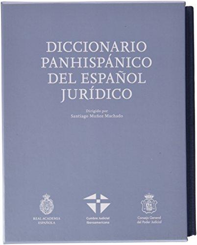 DICCION PANHISPANICO JURIDICO RAE 2TOMOS