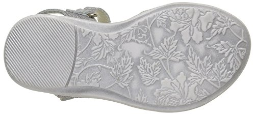 Little Mary Vahine, Sandales fille Argent (Mosaic Taupe)