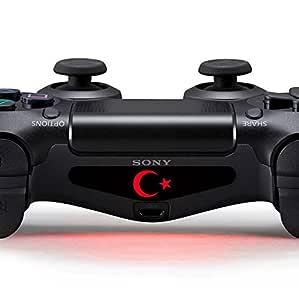 Playstation 4 Ps4 Lightbar Sticker Aufkleber Controller Decal Logo Wunschtext Türkei Turkey Türkiye Games