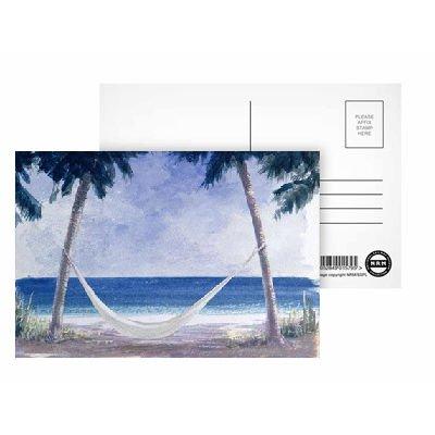 Hammock, 2005 (w/c on paper) by Lincoln.. - Postkarten (8er-Packung) - 15,2x10,2 cm - Beste Qualität - Standardgröße