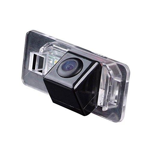 Dynavision Betrachtung Reversing Track Kamera Lineal Linie dem Lenkrad bewegen Rückansicht Backup-Kamera Parkplatz Assistent System, Nachtsicht CCD für BMW X Series 1 Series 3 Series 5 Series E90 (Ccd Nachtsicht-kamera)