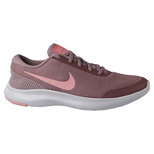 Nike Damen Flex Experience Run 7 Rosa Leder/Synthetik Laufschuhe 38,5