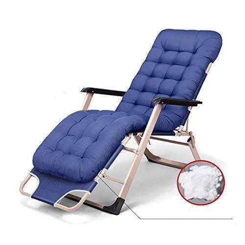 LVLUOYE Fauteuil Relax,Chaise berçante, chaises Pliantes de Bureau de lit, des chaises Longues, lit Sieste, pour extérieur, Salon, Jardin (Couleur: A2) -A3