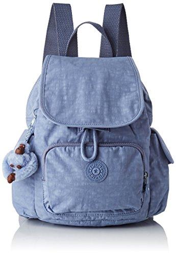 Kipling City Pack Mini, Sacs à dos femme, Bleu (Timid...