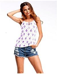 Logobeing Mujer Blusas Camisetas Verano Chaleco Sin Mangas Camisas Sin Mangas Blusa Sexy Mujer T-Shirt