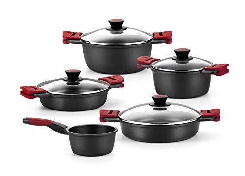 Imagen de Batería de Cocina Para Inducción Bra por menos de 200 euros.
