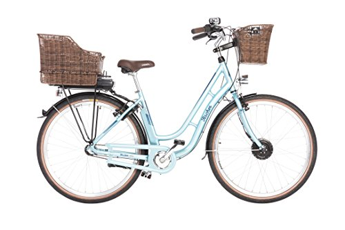 e bike damen retro FISCHER E-Bike Retro 1804, Blau, 28