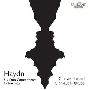 Haydn : Six Duo Concertantes pour Deux Flûtes