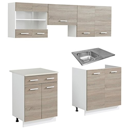 anself-set-de-buffet-de-cuisine-complete-5-pieces-aspect-chene-avec-evier-80-x-60cm