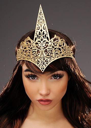 Einhorn Womens Kostüm Fantasy - Magic Box Int. Womens Fantasy Gold Einhorn Krone Kopfstück