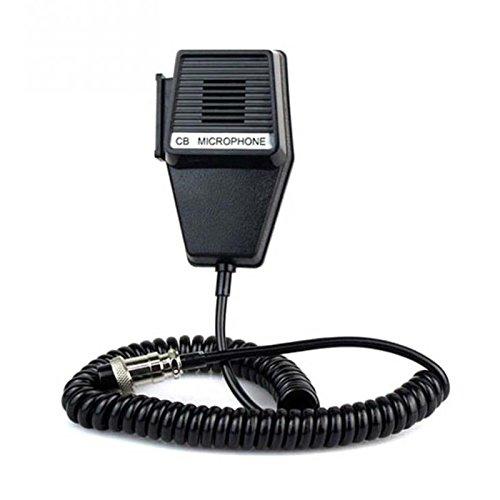 Iycorish CM4 CB Radio Lautsprecher Mic Mikrofon 4 Pin Fuer Cobra/Uniden Auto Walkie-Talkie