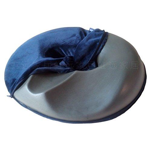 Comfy cure coccyx bamboo charcoal coussin coccyx orthopédique chaise coussin 45 * 40cm oreiller orthopédique de coccyx pour sciatique et douleur de coccyx bureau chaise voiture camion avion fauteuils roulants-D 45x40cm(18x16inch)