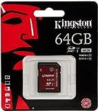 KINGSTON SDA3 UHS-I U3 Class 10 64GB 90MB/S SDXC Memory Card