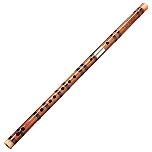 Chinesische Dizi Bamboo Flute Beginner Traditionelle Instrument Precision Tone Key von C, D, E, F, G (größe : C)