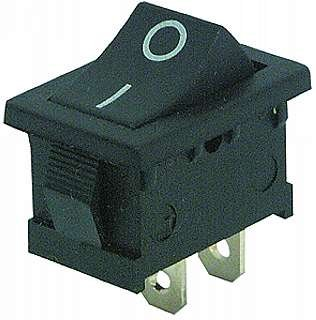Mini-interruptores basculantes 2-pines