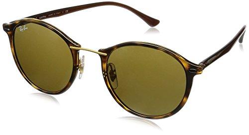 Ray Ban Unisex Sonnenbrille RB4242 Gestell: Havana, Gläser: Braun Klassisch 710/73), Medium (Herstellergröße: 49)