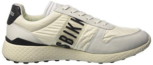 Bikkembergs Strik-er 924, Sneakers basses homme Bianco