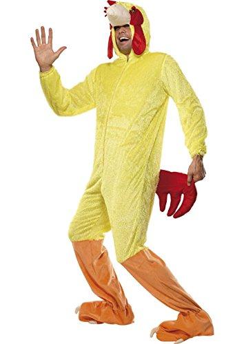 Fancy Kostüm Hahn Dress - Struts Fancy Dress Erwachsene Größe Hahn Huhn Kostüm