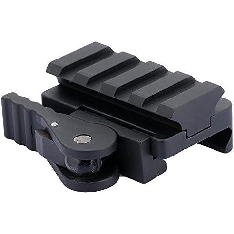 Tattico a sgancio rapido del supporto di portata Adapter guida di 20mm Base Picatinny tessitore