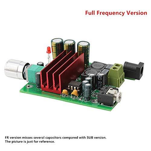 Nobsound 100W TPA3116D2 Amplifier Full Frequency Mono Channel Digital Power Amp Board NE5532 OPAMP 8-25V (Mono) Single-channel-modul Video