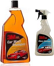 3M Car Shampoo (1L) & 3M Glass Cleaner (500ml) Combo