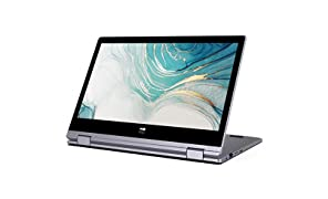 XIDU PhilBook Pro PC Portable 11.6 Pouces IPS 2K Ultrabook Ordinateur Portable 2 en 1 Tactile - Gris sidéral (Intel J3355, 6Go RAM, 128Go SSD, Intel HD Graphics, Windows 10 Home)