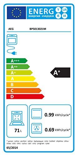 AEG BP5013021M Backofen Elektro / Pyroluxe Plus / Versenkknebel mit Edelstahlkappen / 71 L / edelstahl - 2