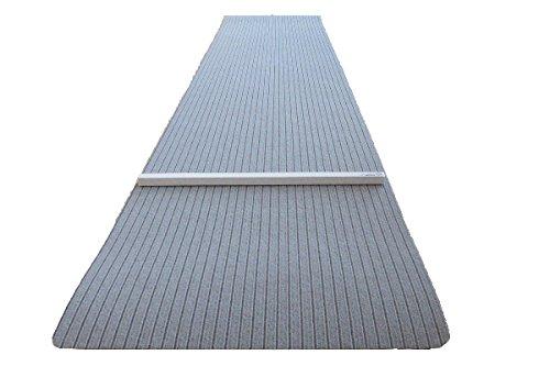 *Dartteppich 66 x 280 cm grau Steeldart Dartmatte hochwertig robust mit Oche*