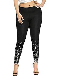 37cb37c11ccf2e TIFIY Womens Fashion Plus Size Summer Sexy Leggings Trousers Sport Print  Casual Yoga Pants