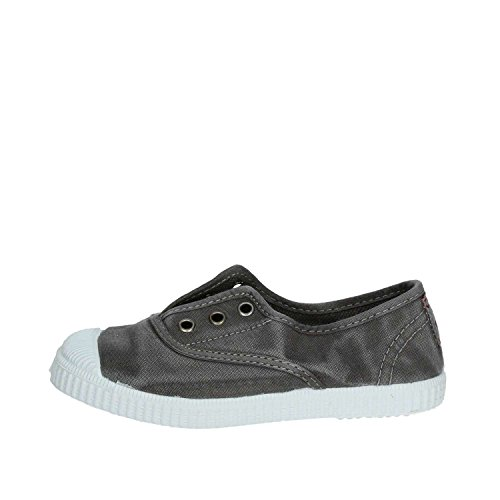 Cienta 70777 21/27 unisexe bleu chaussures en tissu élastique