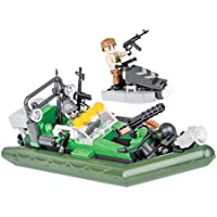 Cobi Small Army-Water Patrol (140 Pcs) Juguete, (2163)
