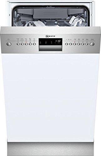 Neff s483 m50s0e Lave-vaisselle partie int egriert/A + +/45 cm/211 kWh/an/2660 L/AN/doseur Assistant/Affichage Temps restant en minutes/Inox