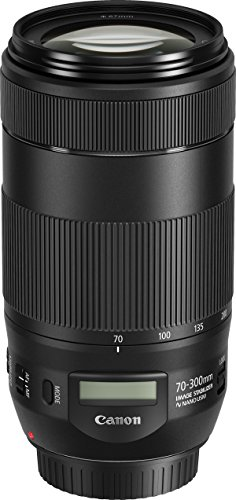 Canon EF70-300mm1:4-5, 6ISII USM Objektiv (67mm Filtergewinde) schwarz 70