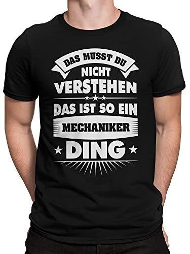 vanVerden Herren Fun T-Shirt Das Musst Du Nicht -