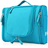 Kitchen Point Heavy Duty Waterproof Hanging Side Open Toiletry Bag - Travel Cosmetic Makeup Bag For Women & Shaving...