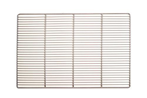 Edelstahl-Grillrost 60 x 40 cm …