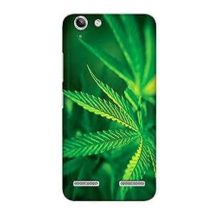 CrazyInk Premium 3D Back Cover for Lenovo Vibe K5 - Marijuana Leave