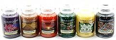 Idea Regalo - Official Yankee Candle classico preferiti assortiti Indulgence Selection box Gift set da 6barattoli Signature grande