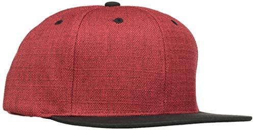 Flex fit Melange 2-Tone Snapback Red/blk One Size Casquette Unisex-Adult