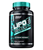 """Nutrex LIPO 6 BLACK """"HERS"""" *FOR WOMEN* EXTREME POTENCY FAT BURNER / DESTROYER 120 caps Diet & Weight Loss Support *NEW DMAA-Free Legal version Lipo6*"""