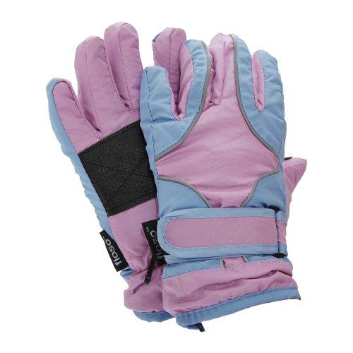 Floso® Kinder Thermo Handschuhe, Wasser abweisend (4-8 Jahre) (Blau) | 05055499103430