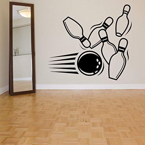 all Alley Wandaufkleber Für Sport Wohnzimmer Tapete Kunst Decor Vinyl Wandtattoos Hintergrund Zitate 48X42 Cm ()
