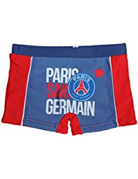 psg-boxer de bain paris saint germain-rouge-garçon