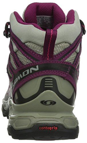 Salomon X Ultra Mid GTX Women's Trail Spatzierungsschuhe Grau